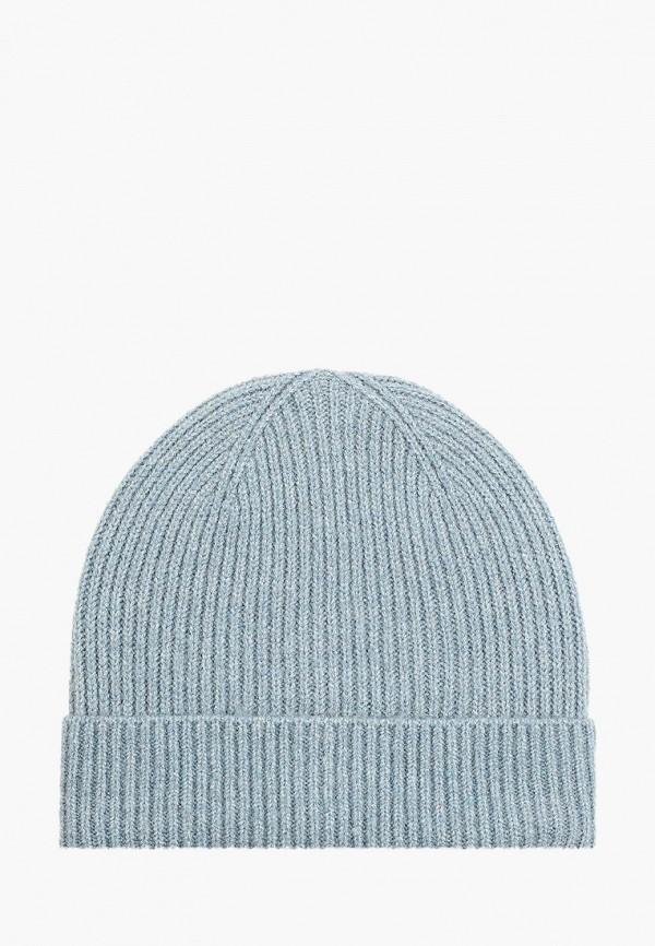 женская шапка pieces, голубая