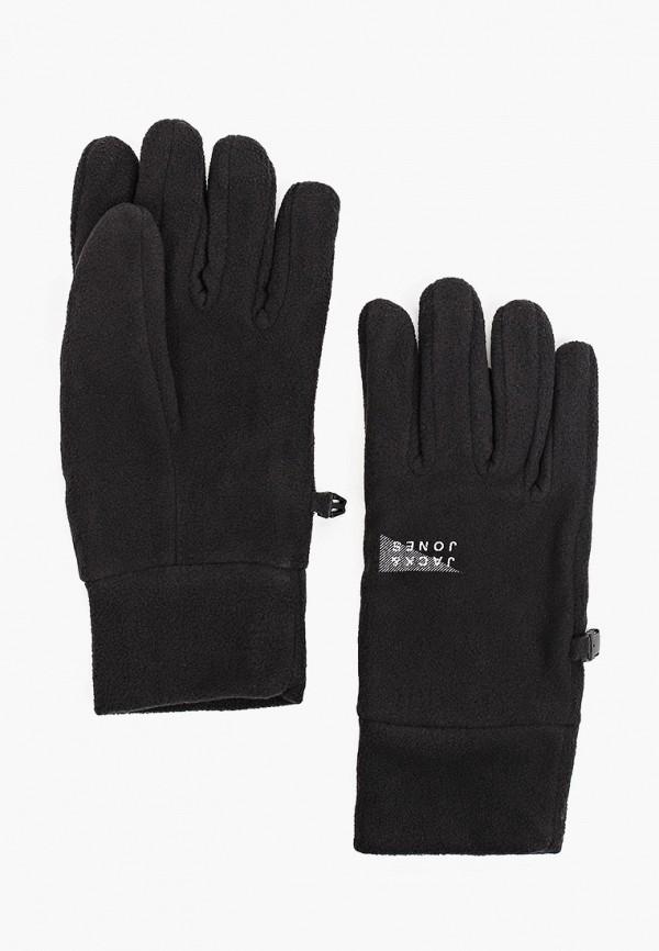 мужские текстильные перчатки jack & jones, черные