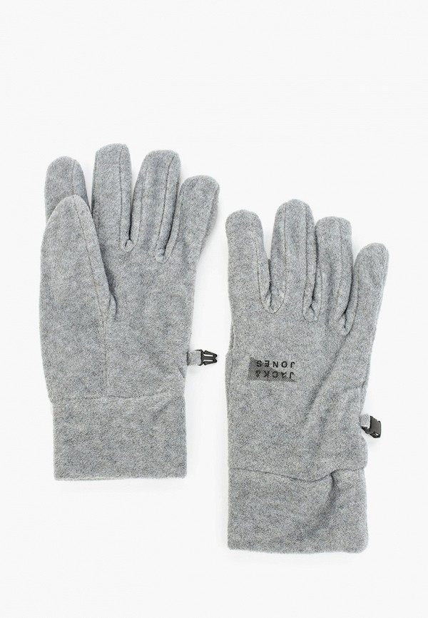 мужские текстильные перчатки jack & jones, серые
