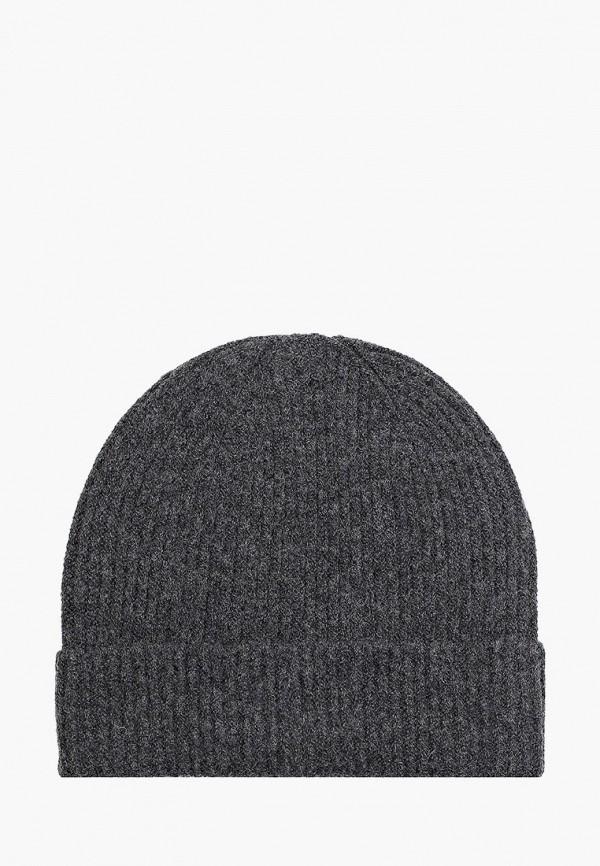 женская шапка pieces, серая