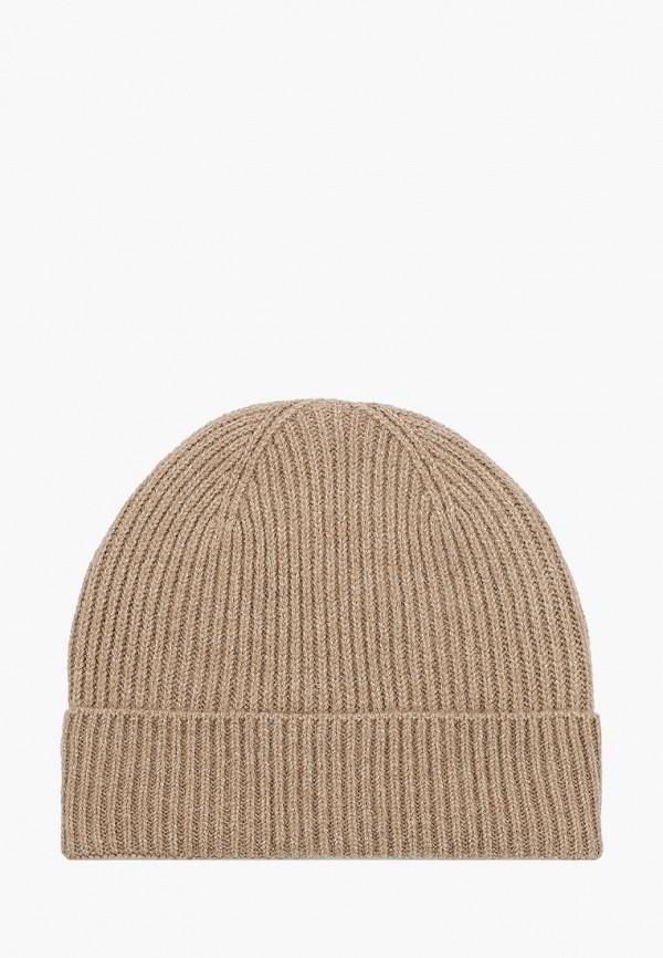 женская шапка pieces, бежевая