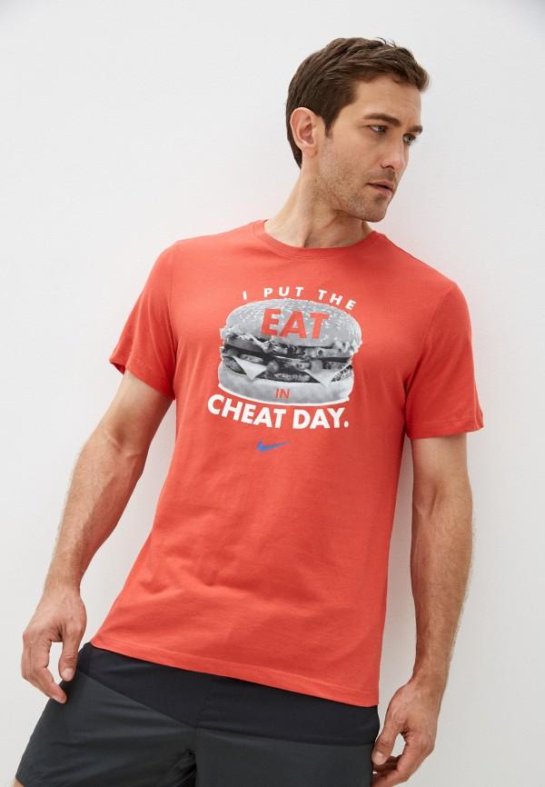 мужская спортивные футболка nike