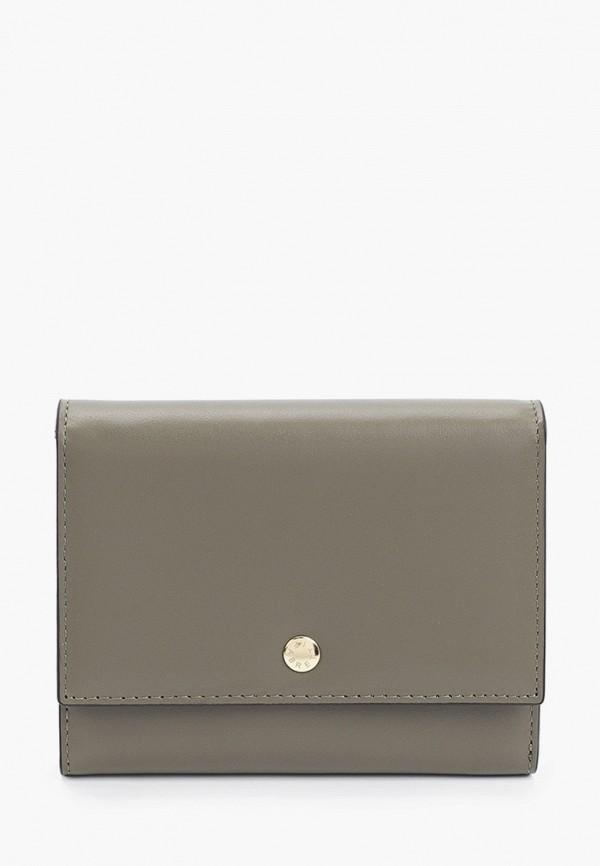 женский кошелёк fabretti, хаки