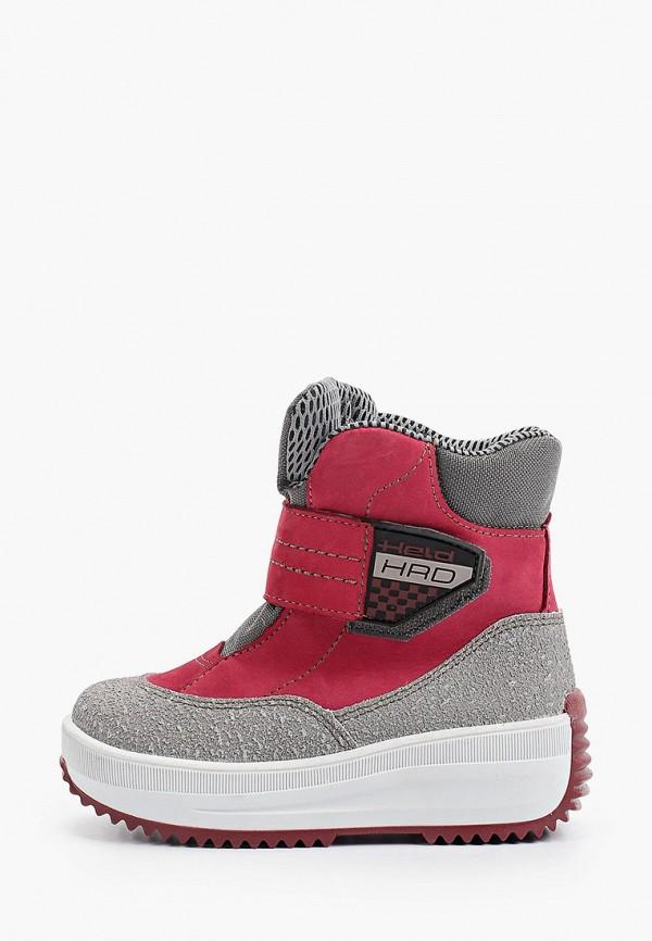 ботинки лель для девочки, разноцветные