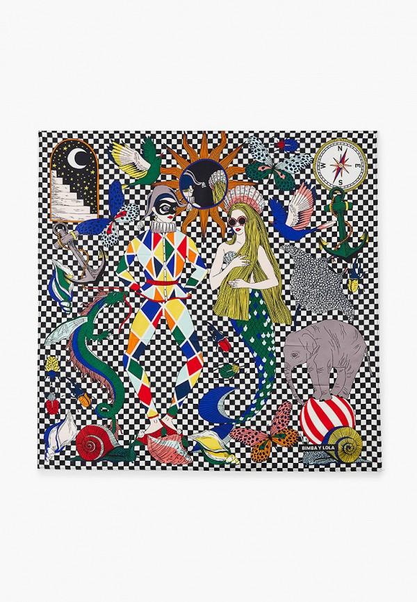 женский платок bimba y lola, разноцветный