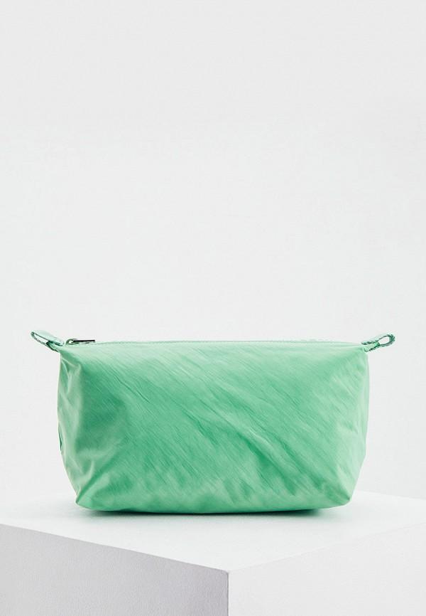 женская косметичка bimba y lola, зеленая
