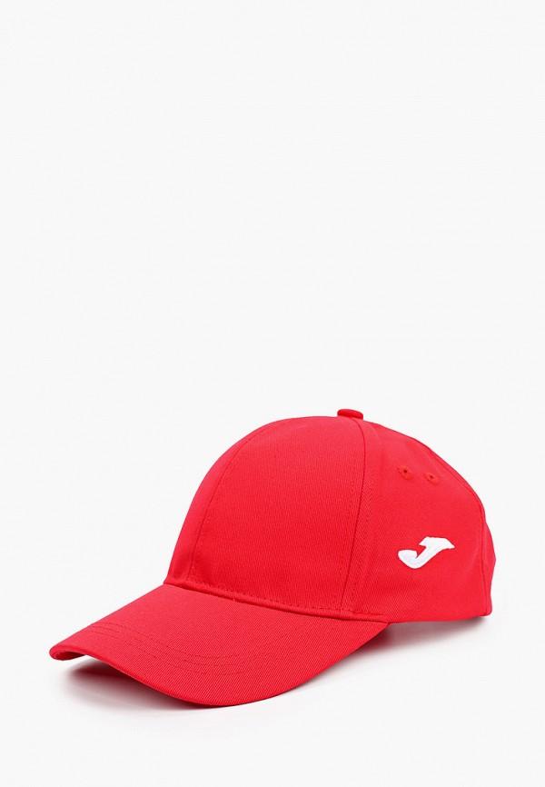 женская бейсболка joma, красная