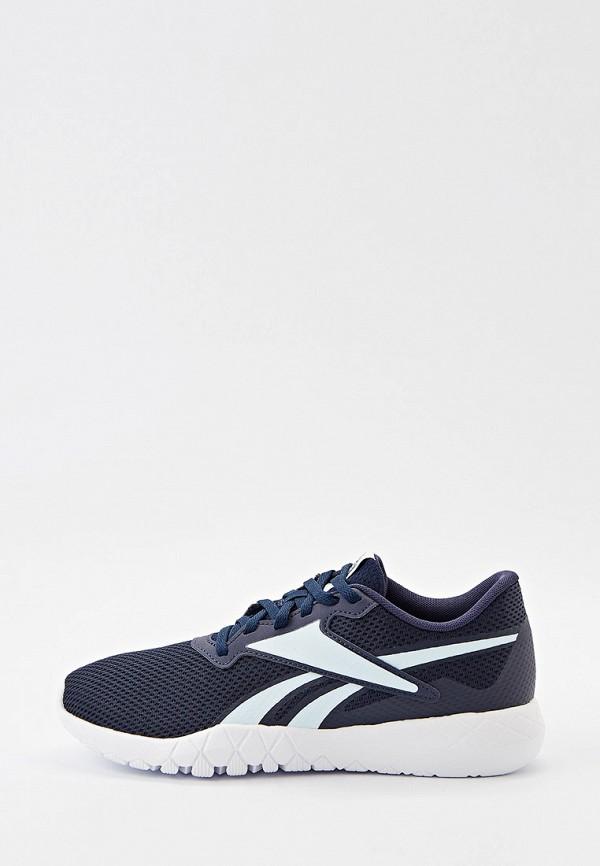 женские низкие кроссовки reebok, синие
