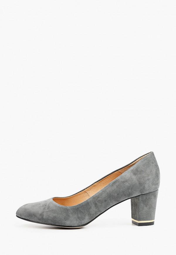женские туфли с закрытым носом bosccolo, бирюзовые