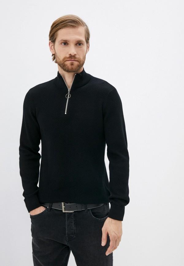 мужской свитер casual friday by blend, черный