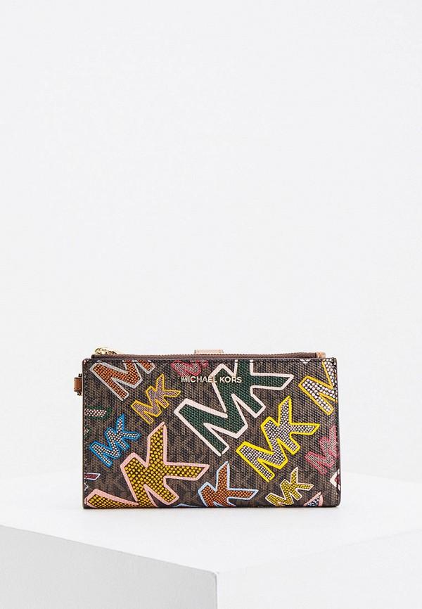 женский кошелёк michael kors, разноцветный