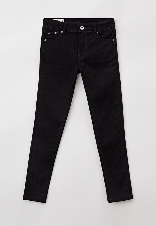 джинсы pepe jeans london для девочки, черные