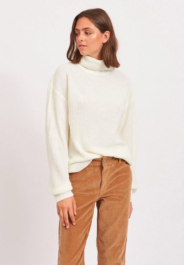 женский свитер vila, белый