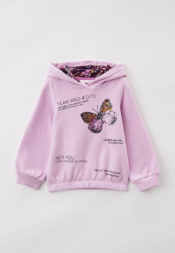 худи s.oliver для девочки, розовые