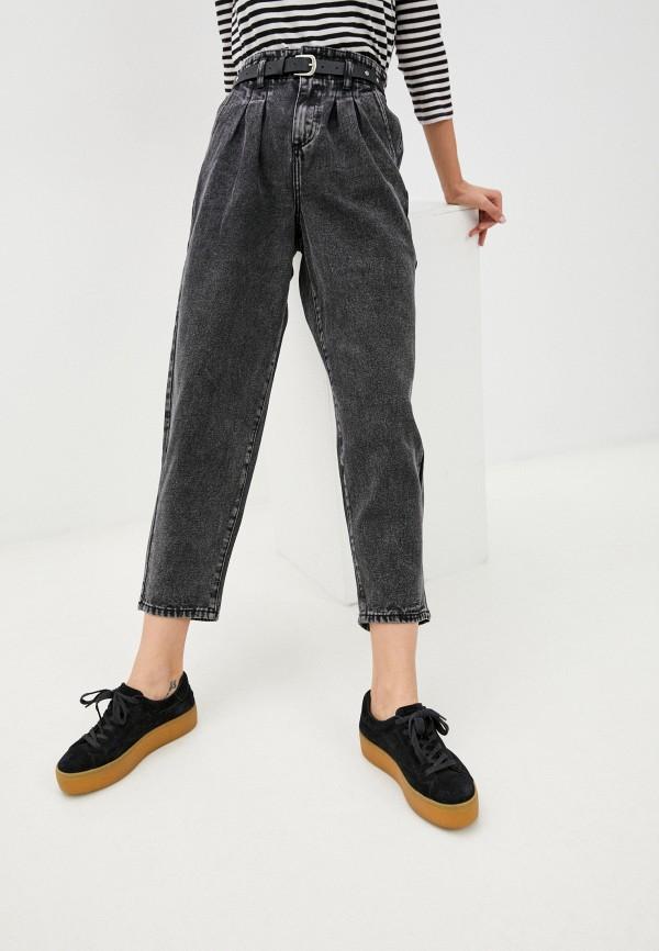 женские джинсы miss bon bon, серые