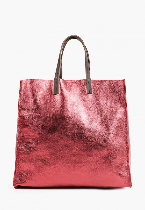 женская сумка-шоперы lamania, красная