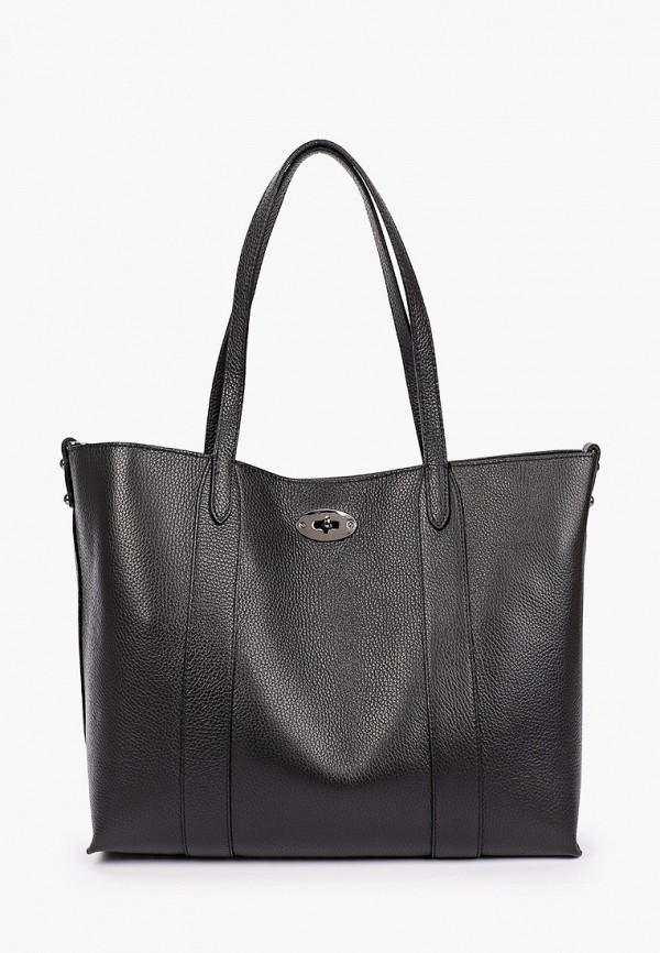 женская сумка-шоперы lamania, черная