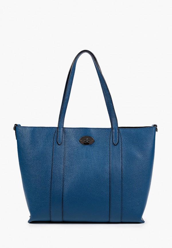 женская сумка-шоперы lamania, синяя