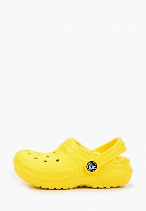 сабо crocs малыши, желтое