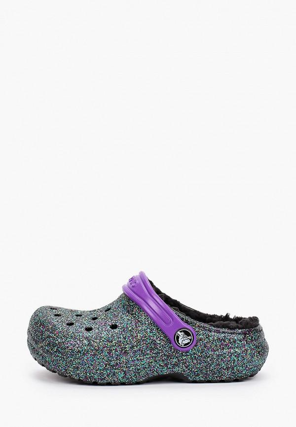сабо crocs малыши, разноцветное