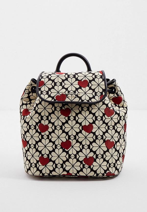 женский рюкзак kate spade, бежевый