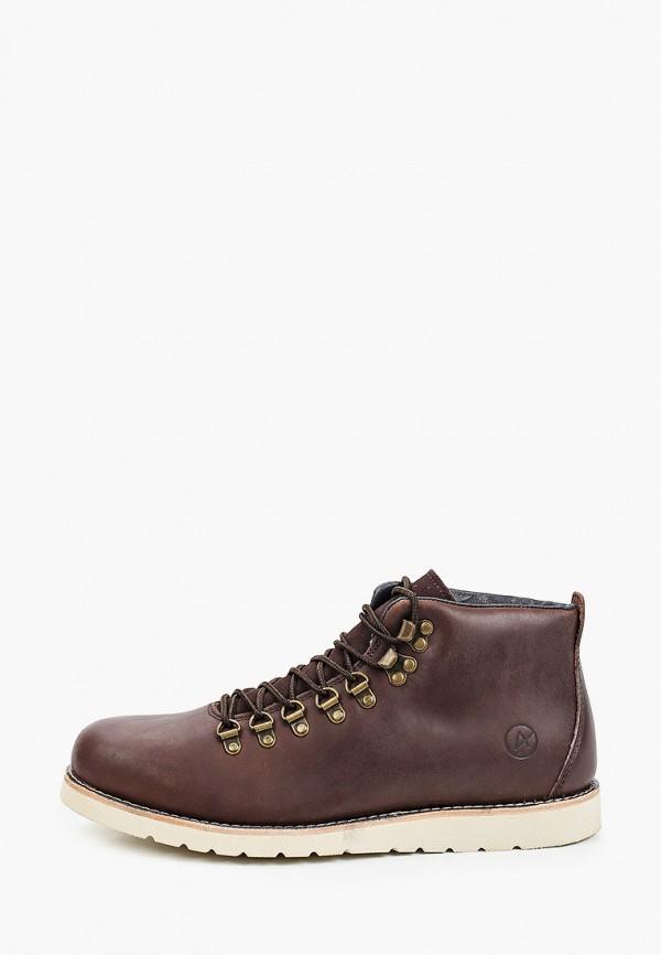 мужские высокие ботинки affex, коричневые