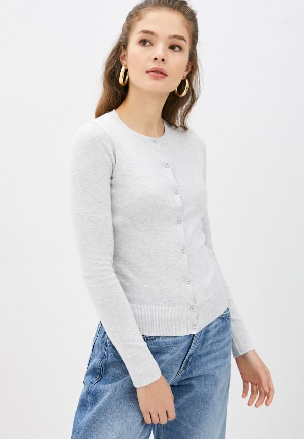 женский кардиган gap, серый