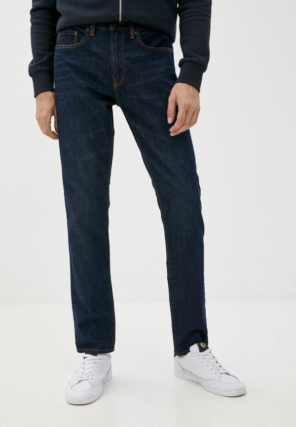мужские зауженные джинсы gap, синие