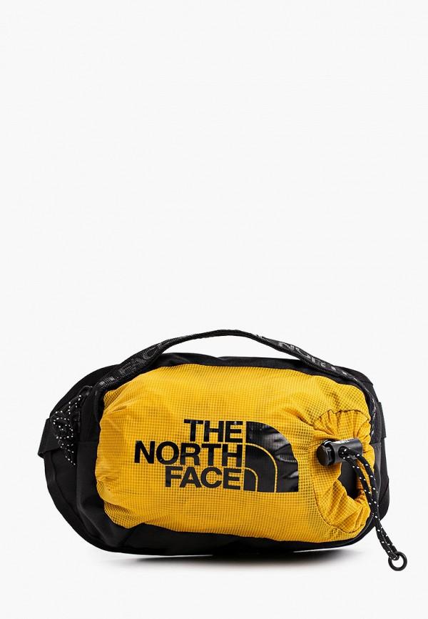 женская поясные сумка the north face, желтая