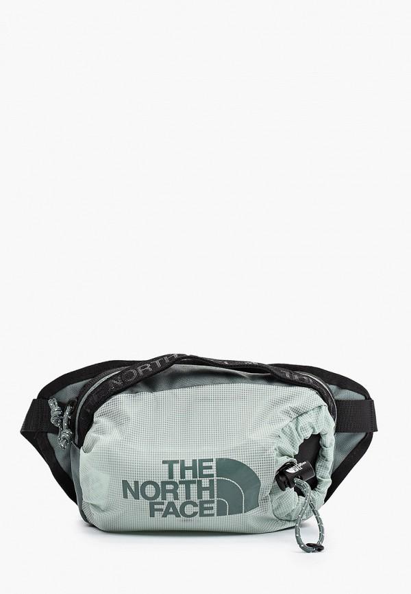 женская поясные сумка the north face, бирюзовая