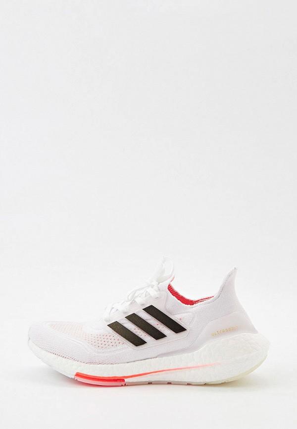 Кроссовки adidas белого цвета