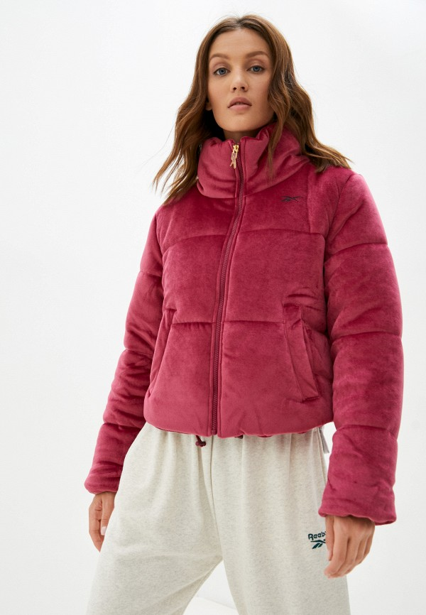 Куртка утепленная Reebok розового цвета