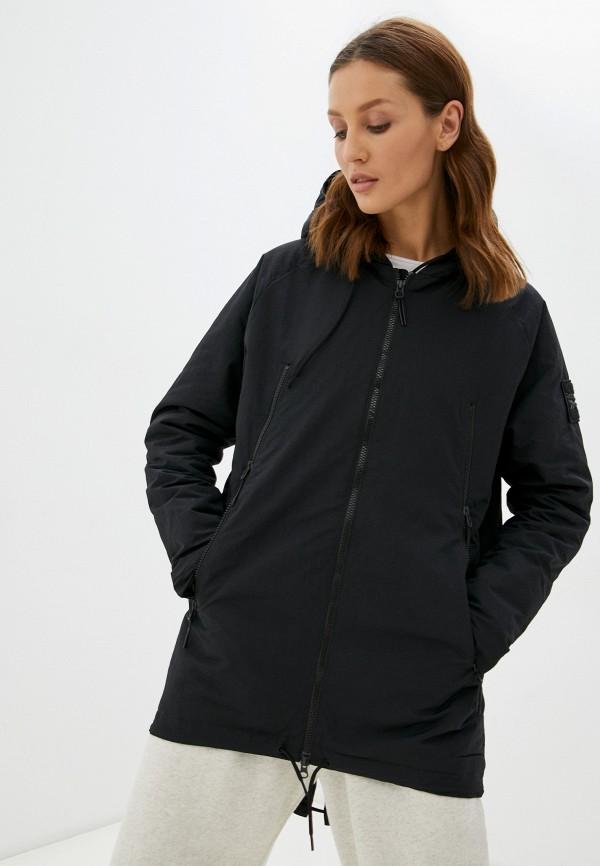 Куртка утепленная Reebok черного цвета