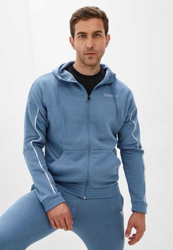 Толстовка Reebok голубого цвета