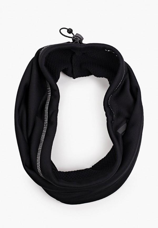 женский снуд adidas, черный