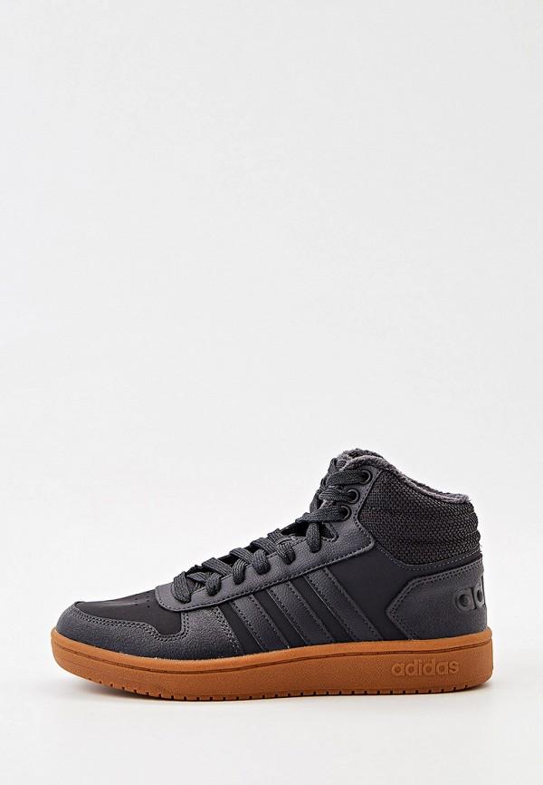 Кеды adidas черного цвета