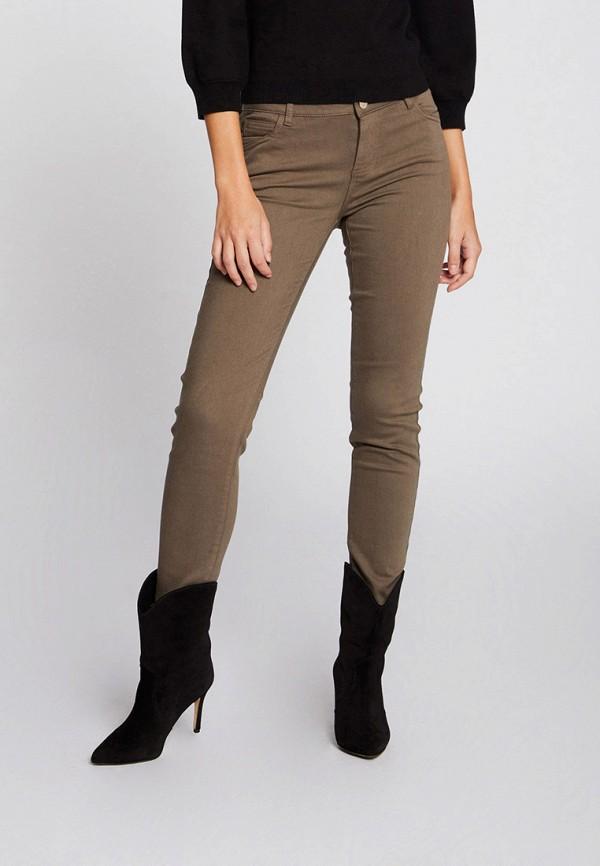 женские джинсы morgan, коричневые