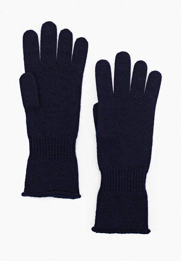 женские текстильные перчатки united colors of benetton, синие