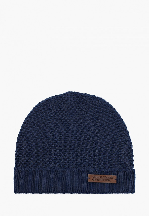 шапка united colors of benetton для мальчика, синяя