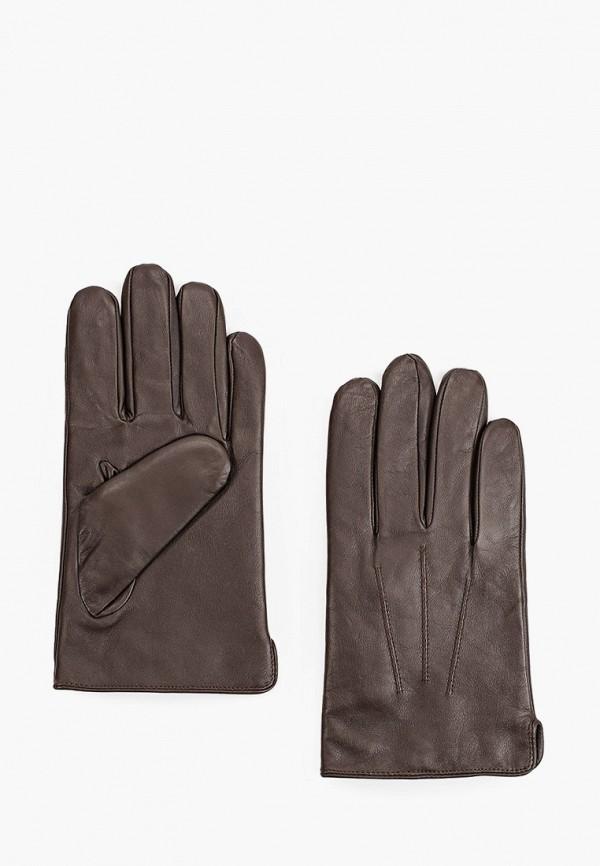 мужские перчатки marks & spencer, коричневые