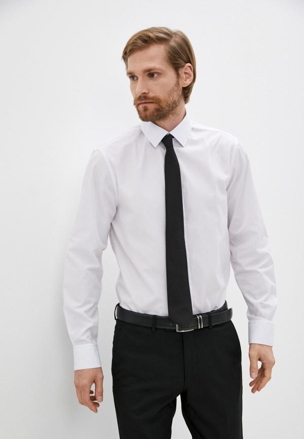 мужская рубашка marks & spencer, белая