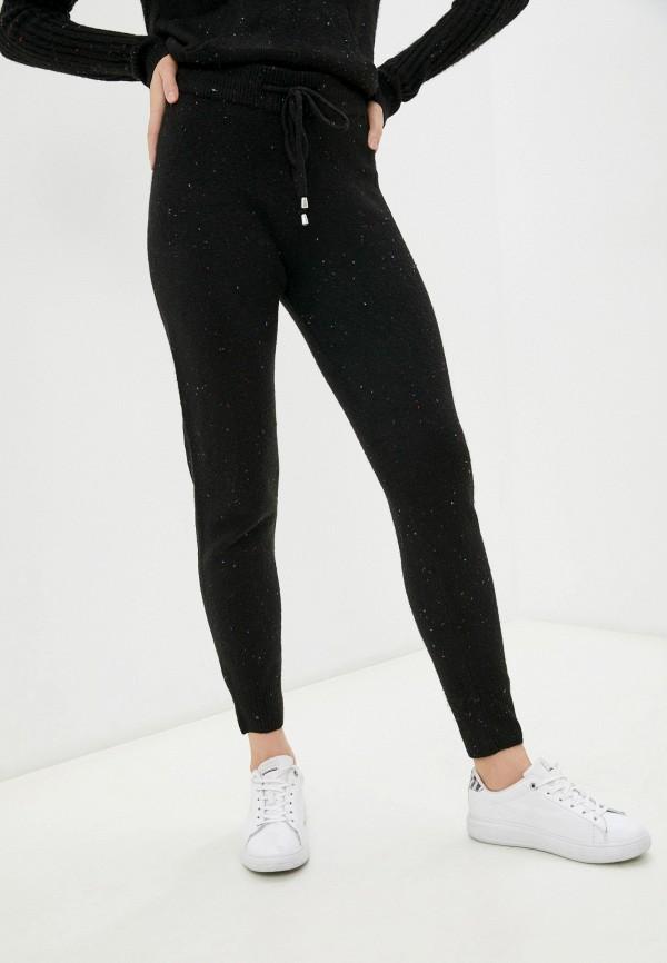 женские повседневные брюки marks & spencer, черные