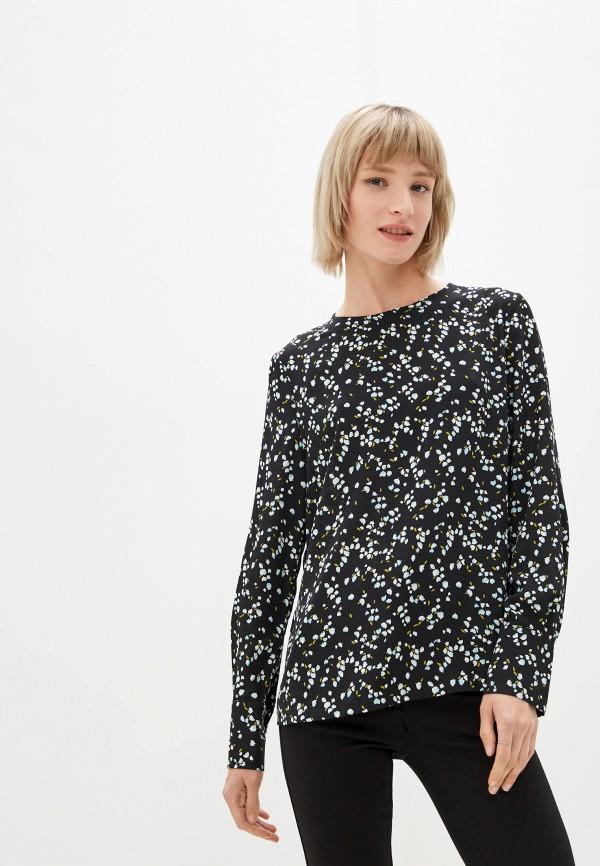 женская блузка marks & spencer, черная