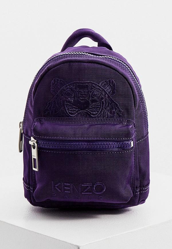 женский рюкзак kenzo, фиолетовый