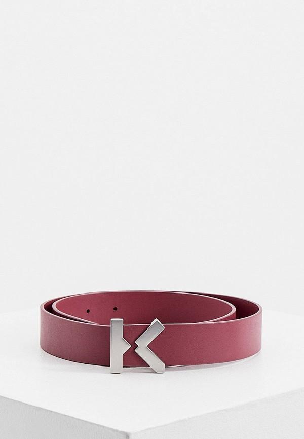 женский ремень kenzo, розовый