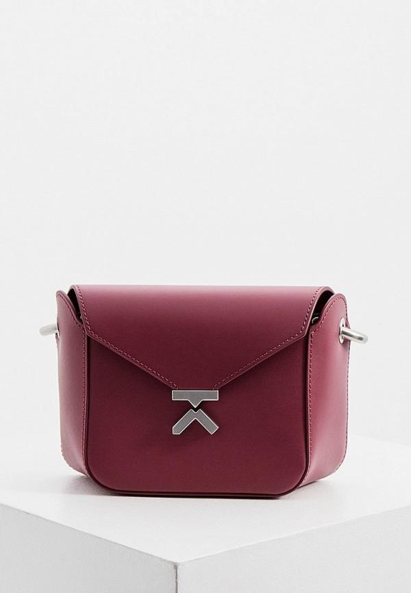 женская сумка kenzo, розовая