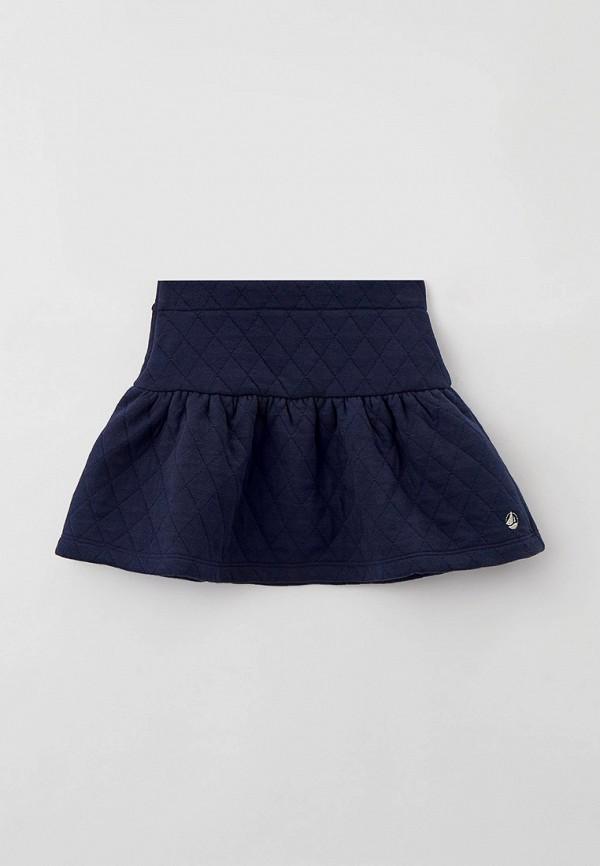 юбка petit bateau для девочки, синяя