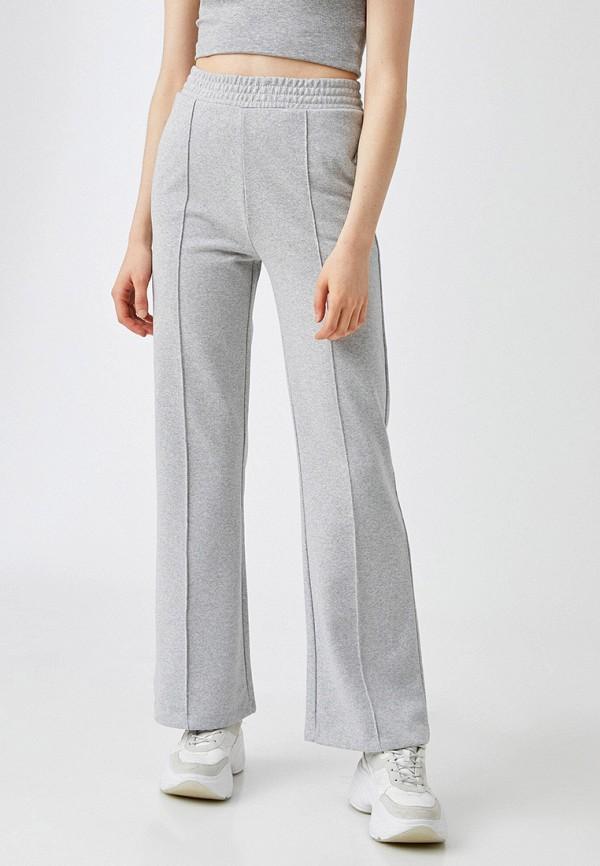 женские брюки koton, серые