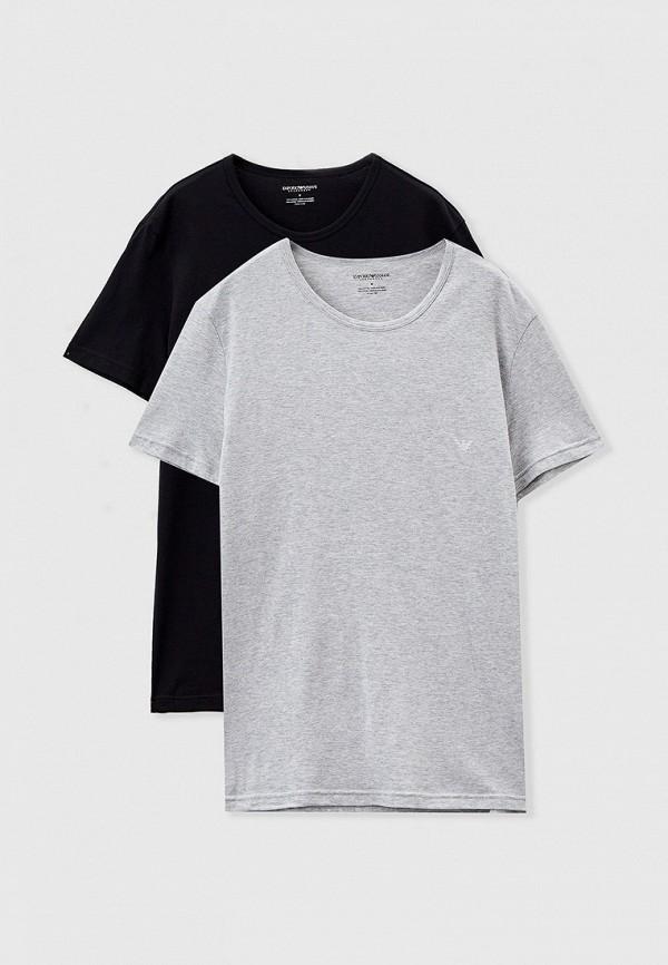 мужская футболка с коротким рукавом emporio armani, разноцветная