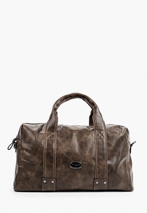 женская дорожные сумка david jones, коричневая